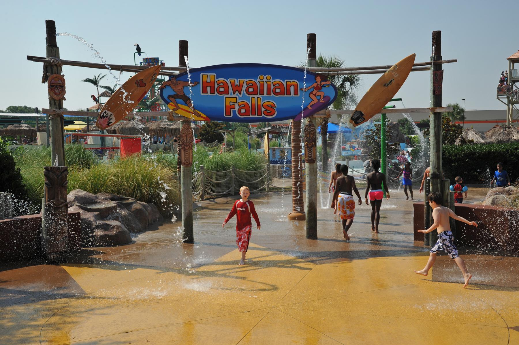 Champions Day at all 5 Hawaiian Falls waterparks
