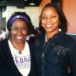 Ms Jones- Former IISD School  Board Trustee Volunteering at BIG DOGS Youth Summit