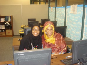 Teachers at the Islamic School-Fareeda Abdur-Rahman (AP Englis grades 9-12) Nadia Abdur-Rahman (AP World & US History grades 9-12