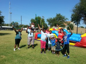 Kids enjoyed the Fit 4 The King event hosted by Foremost Family Health Centers