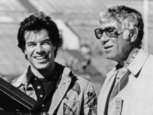 Ed Sabol on the right was the genius behind NFL Films, while his son Steve on the left, who would later become President of the organization was the face of NFL Films. Steve preceded his father in death in 2012. Image: USA Today