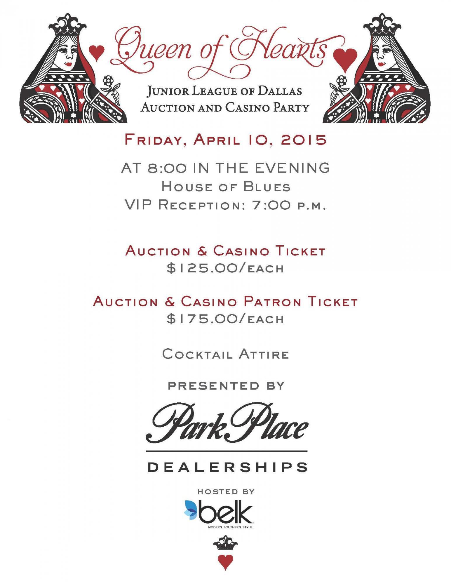 Jld auction x26 casino party casino carte maestro