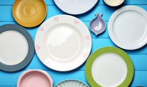 """""""Strict fasting is hard for people to stick to, and it can also be dangerous, so we developed a complex diet that triggers the same effects in the body,"""" says Valter Longo. (Credit: """"plates"""" via Shutterstock)"""