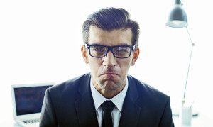"""""""Ironically, when leaders felt mentally fatigued and morally licensed after displays of ethical behavior, they were more likely to be abusive toward their subordinates on the next day,"""" says Russell Johnson. (Credit: iStockphoto)"""