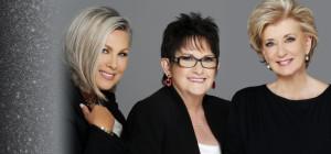 L to r, Stacey Schieffelin, Debbie Saviano and Linda McMahon. image: Women's Leadership LIVE