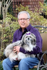 Bailey offers David not only companionship but is an invaluable part of his health team.