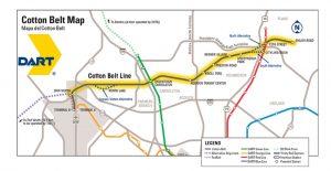 cotton belt corridor
