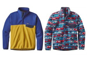 Polyester fleece clothing sure is cozy and comfy, but at what cost to the environment and marine ecosystems? Credit: Patagonia.