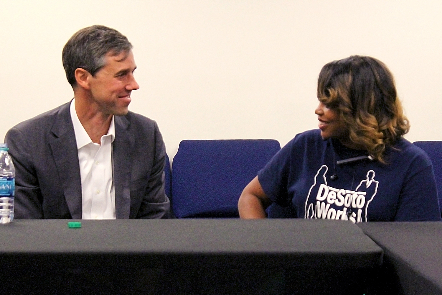 Beto Appears At Packed Out Town Hall In Desoto As Campaign