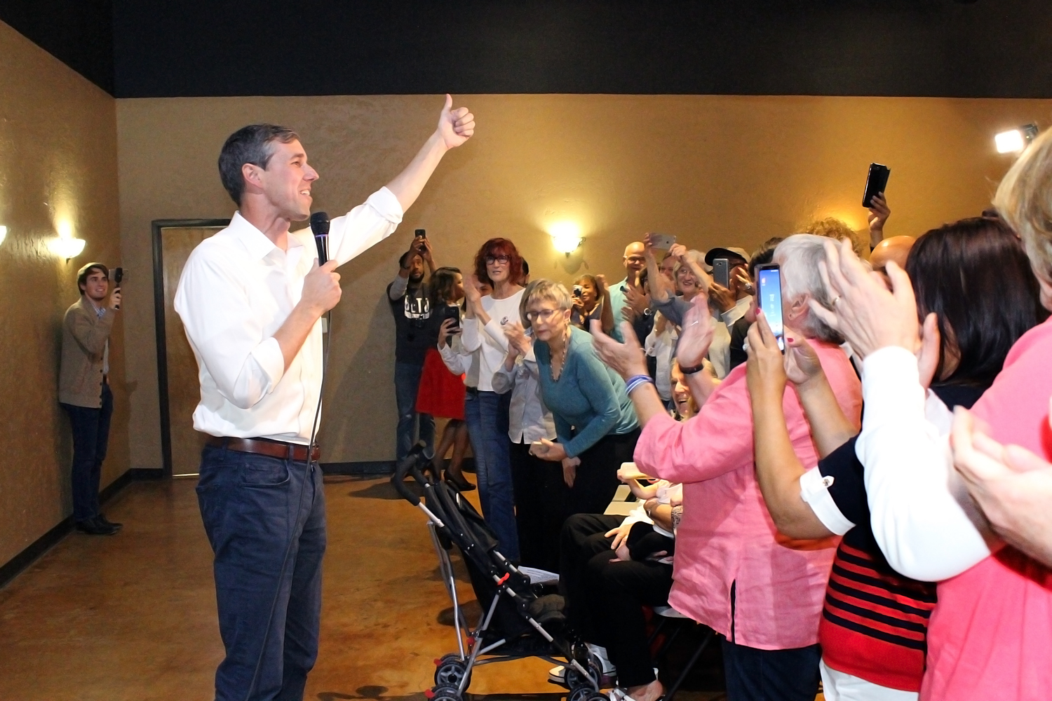 Beto Returning To North Texas After Surpassing Cruz With