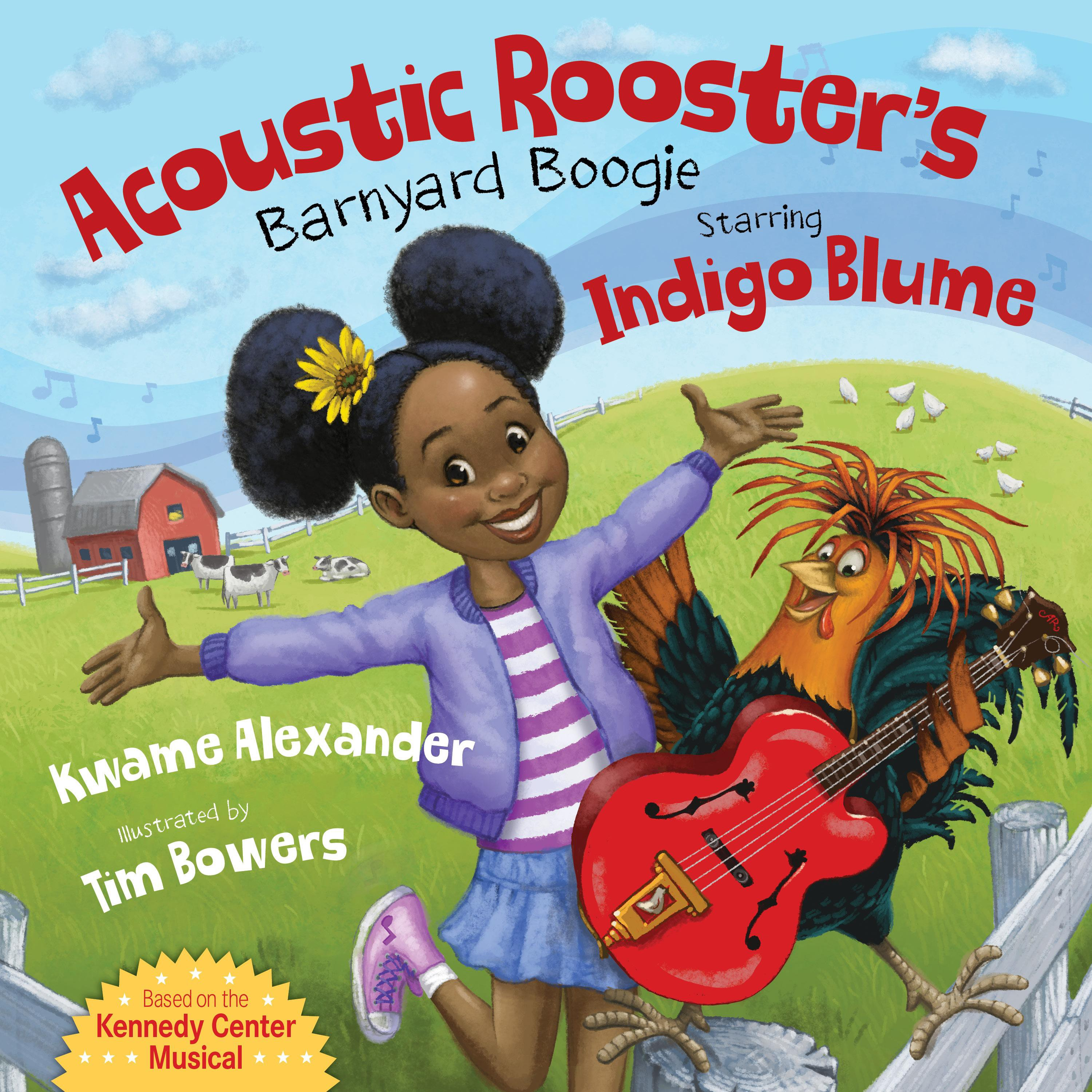 NDG Book Review: 'Acoustic Rooster's Barnyard Boogie Starring Indigo Blume'