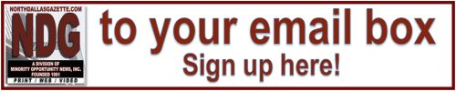 Sign up for NDG Newsletter
